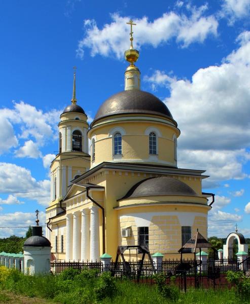 Село Радонеж Преображенская церковь